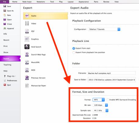 Sibelius MP3 export.png