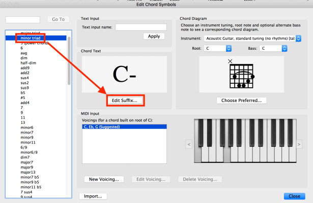 Custom Chord Symbol Text in Sibelius – Making the Most of Notation